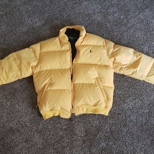 Womens large POLO puffer coat
